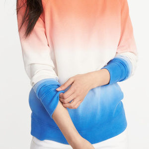Red White & Blue Ombre Sweatshirt